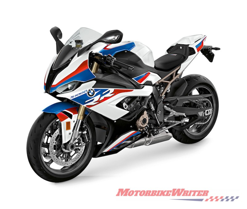 BMW S 1000 RR less flab delivery