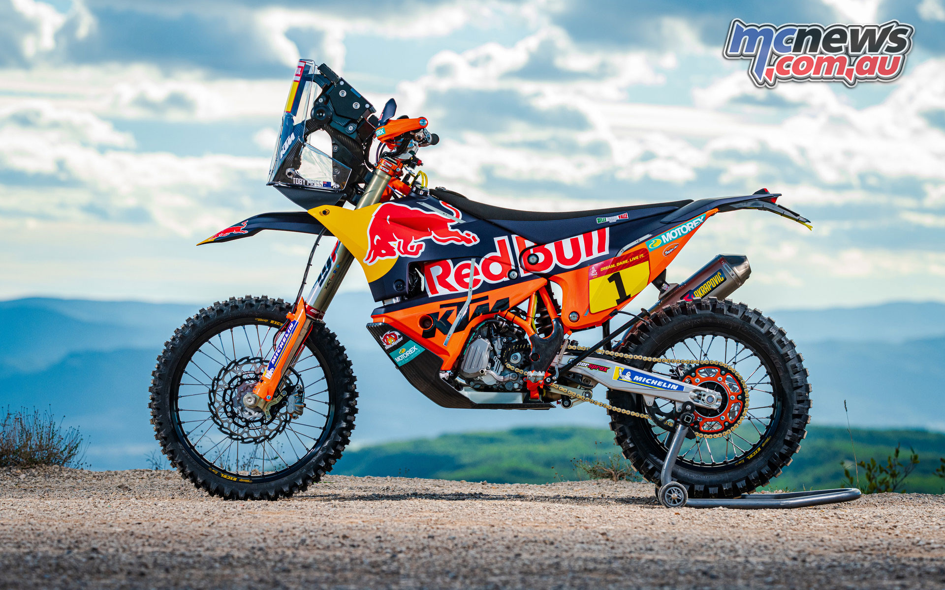 Toby Price KTM RALLY STAGE