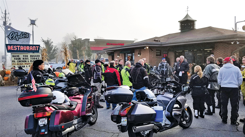 touring motorcycle riders