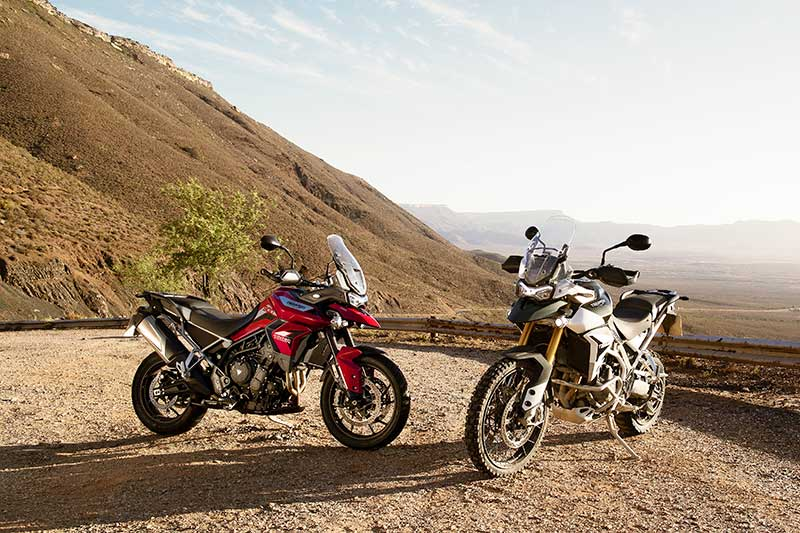 2020 Triumph Tiger 900 GT Pro and Tiger 900 Rally Pro
