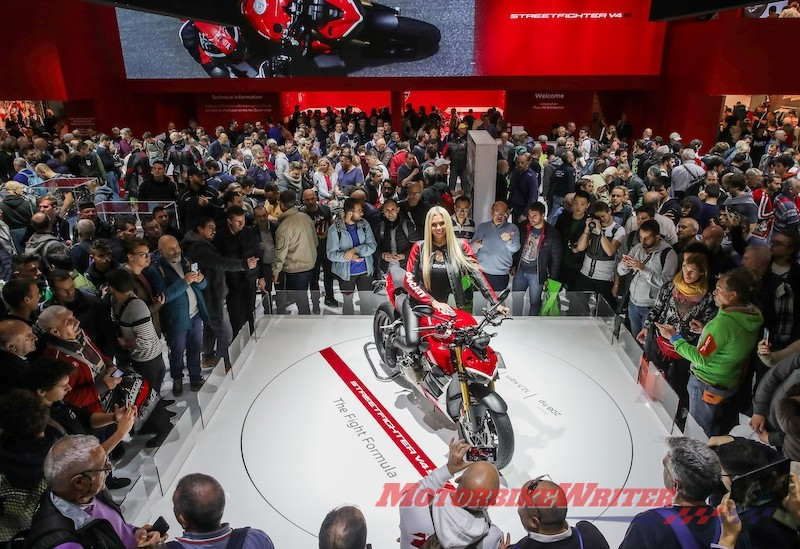 Ducati EICMA Streetfighter V4 vote