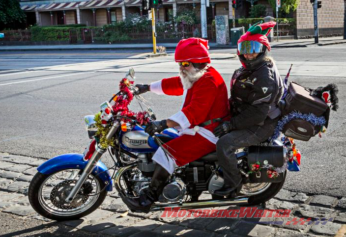 Melbourne Toy Run 40th anniversary covers