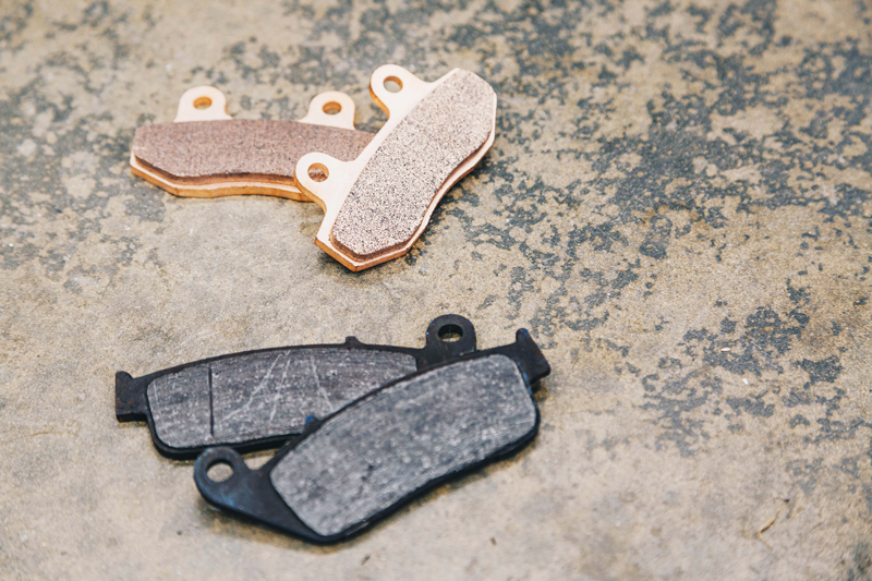 OE vs sintered brake pads