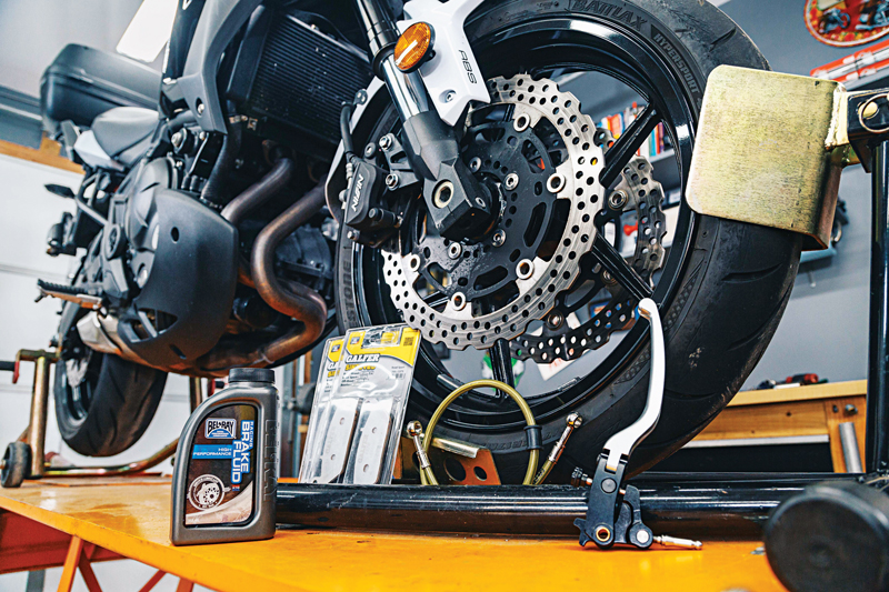 motorcycle brake hacks and tips