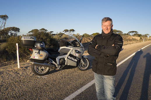 Black Dog Ride around Australia 2014 Steve Andrews founder boss FUTURE