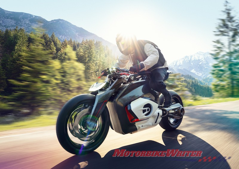 BMW Motorrad Vision DC Roadster electric boxer electromobility