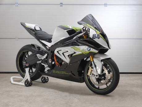 BMW eRR electric sports bike boxer