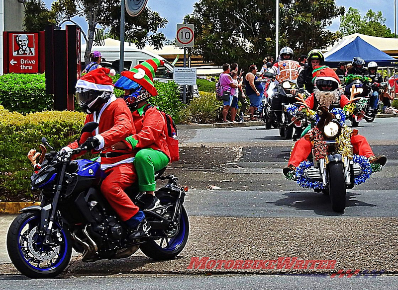 Ipswich Toy Run cops Grinch list christmas