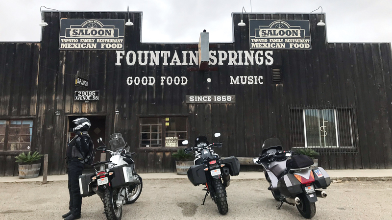 Old Stage Saloon at Fountain Springs
