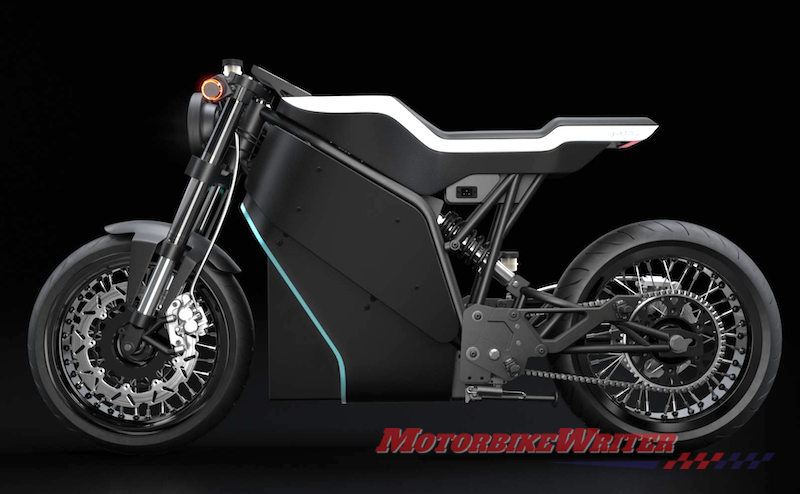Nepal Yatri electric motorcycle