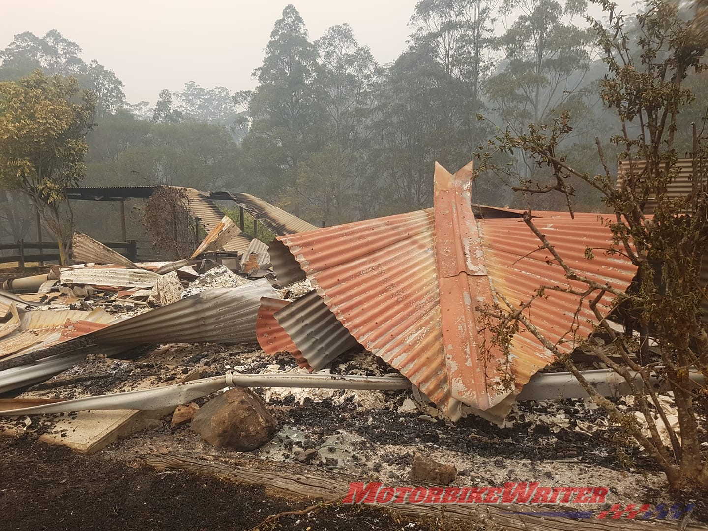 Support fire-ravaged Gingers Creek rider cafe