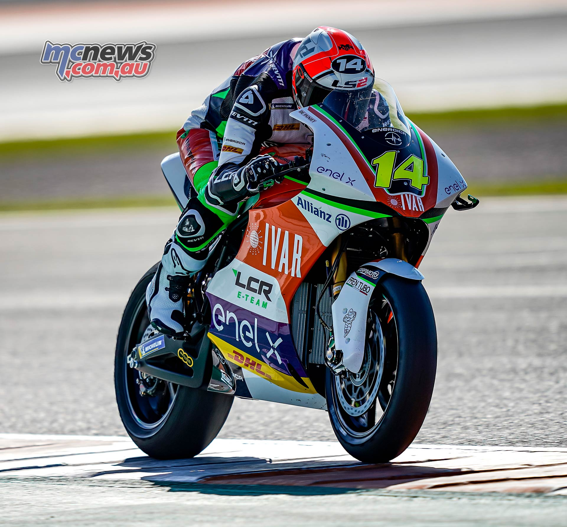 MotoE World Cup test Valencia Final Randy De Puniet