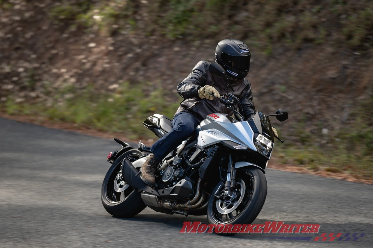 Suzuki Katana is a rider's delight online Bike of the Year