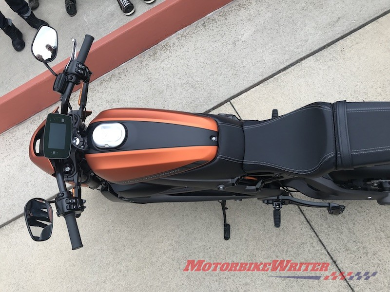 Sporty Harley-Davidson electric LiveWire