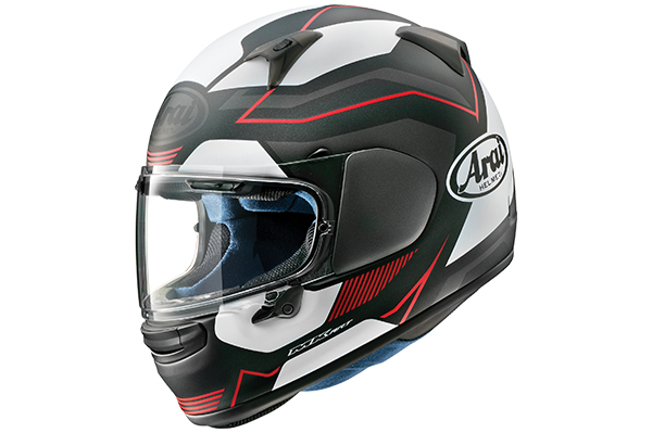 Arai Regent-X helmet in Sensation Red Frost.
