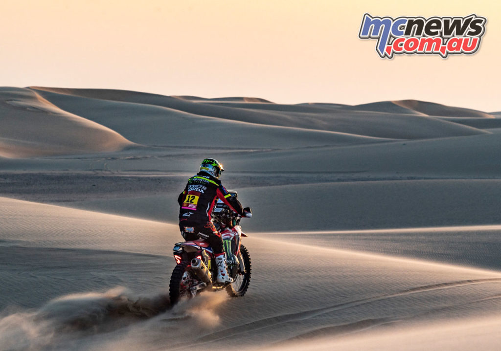 Dakar Rally Stage Joan Barreda