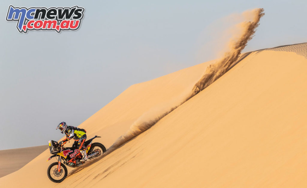 Dakar Rally Stage Toby Price