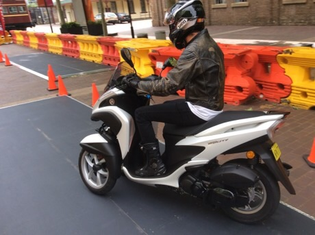 Tricity scooter