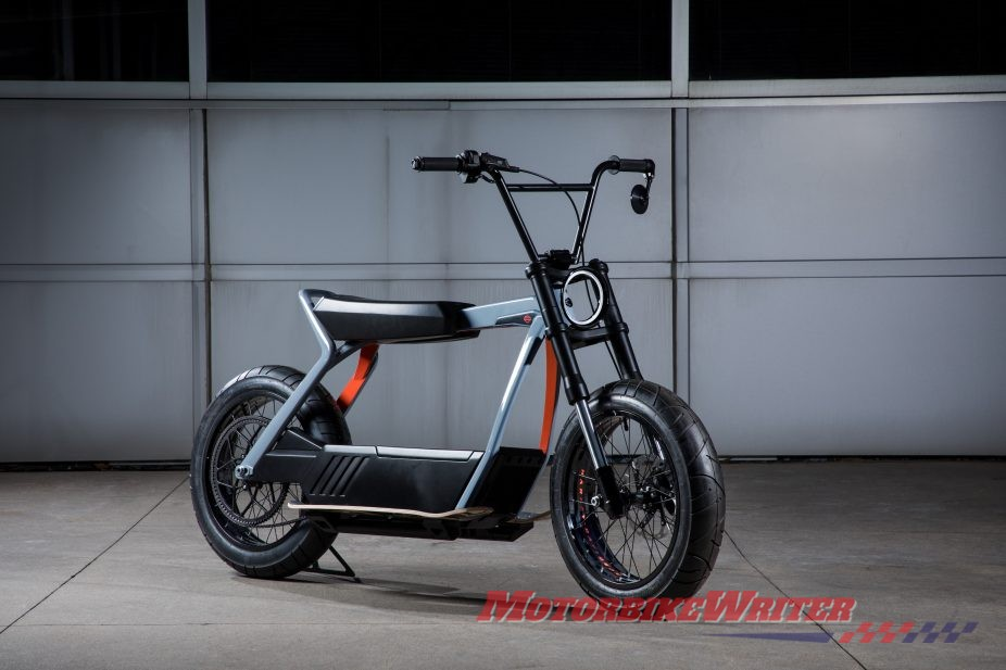 Harley electric LiveWire ID specs