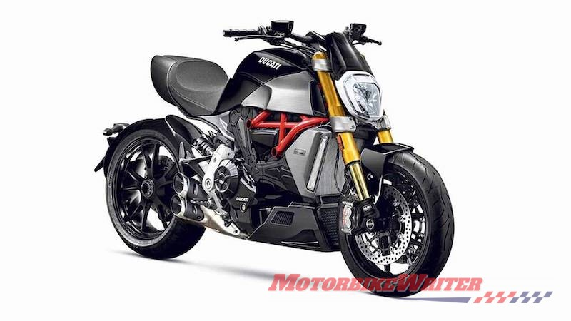 Red Dot Ducati Diavel 1260