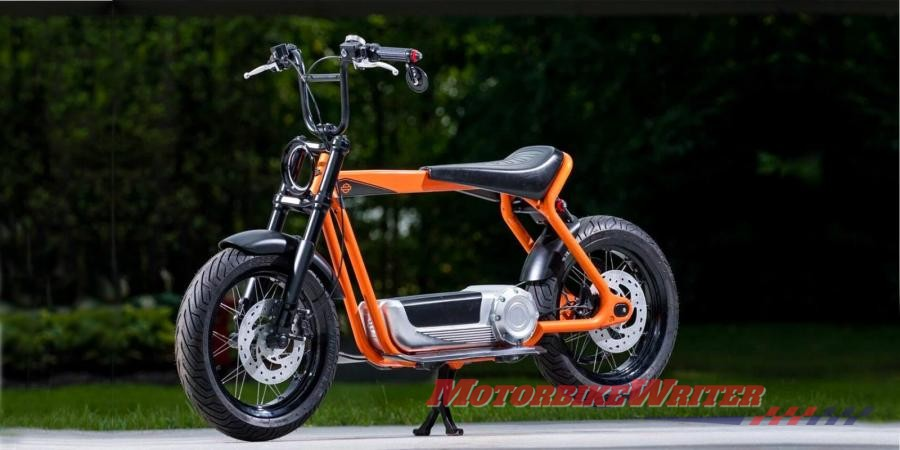 Harley-Davidson Scooter small