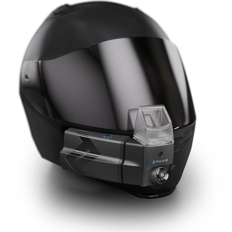 KTM invests in Nuviz-770 HUD technology smart helmet