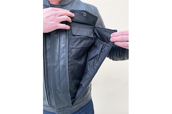 First Manufacturing Raider leather jacket
