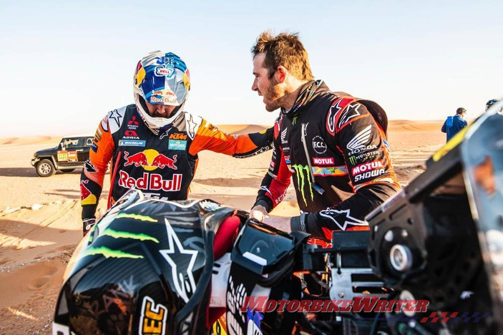 Toby Price Good Samaritan Dakar Rally
