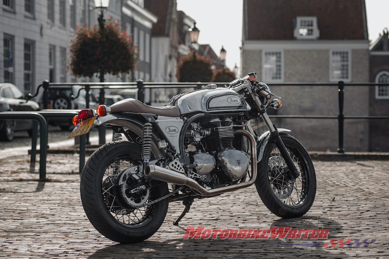 Icon Motorcycles plan new-age Triton