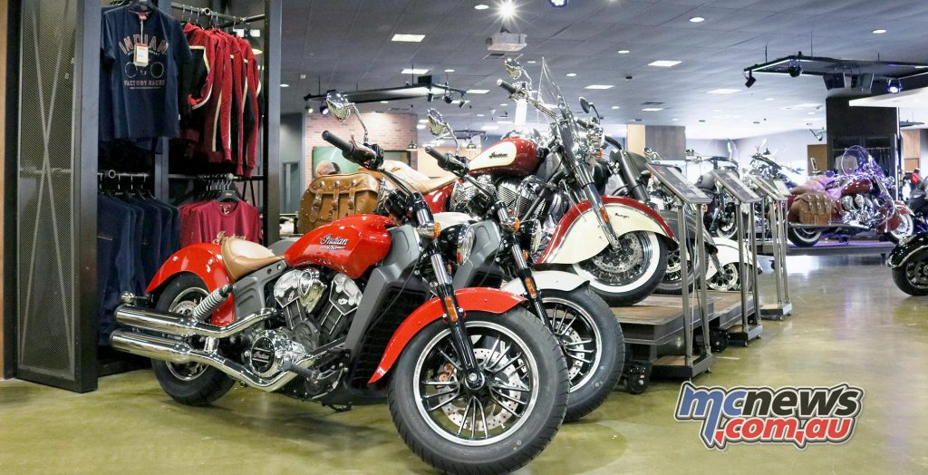Indian Motorcycle store Perth