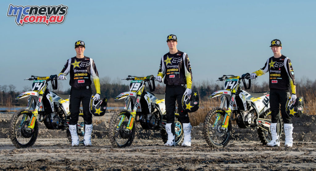 Rockstar Energy Husqvarna Factory Racing MX Team