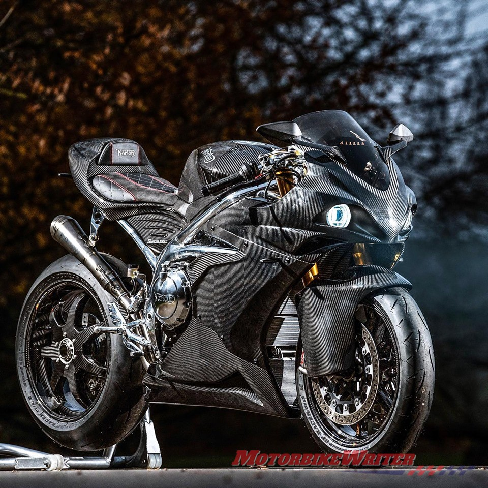 Norton adds supercharged Superlight SS