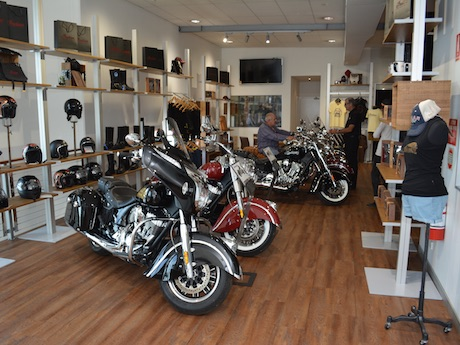 Indian motorcycle independent dealership