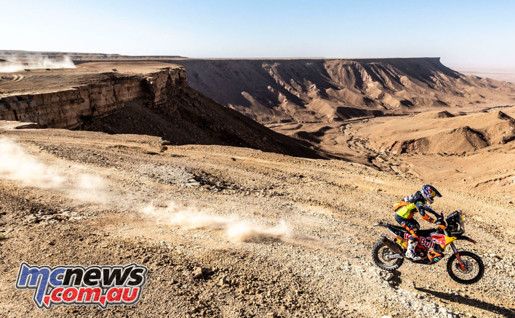 Dakar Rally Stage Matthias Walkner