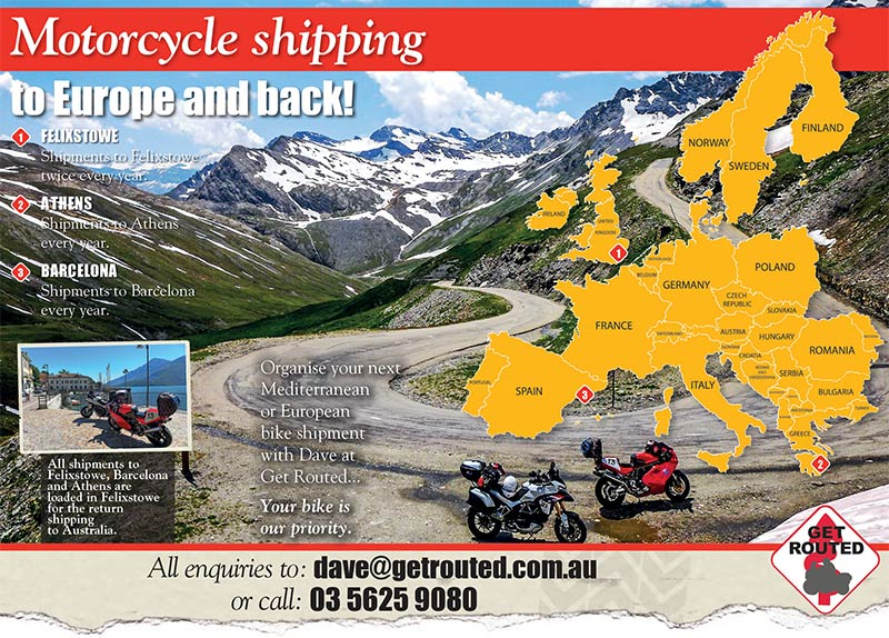 GetRouted Shipping Europe Landscape
