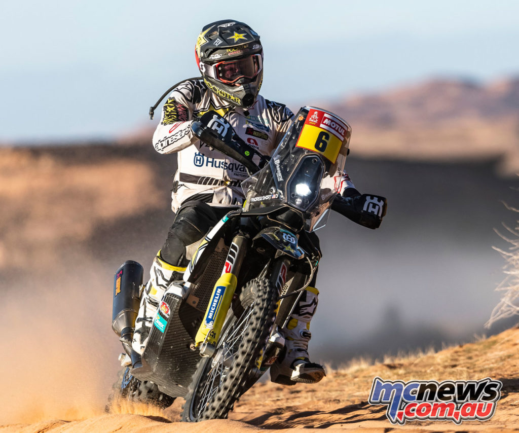 Dakar Stage Andrew Short Rockstar Energy Husqvarna Factory Racing