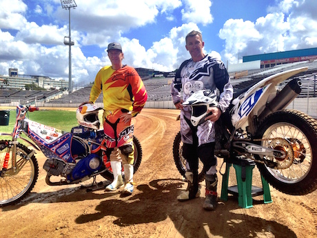 Jason Crump and Troy Bayliss will race at Moto Expo - Australia Day reasons