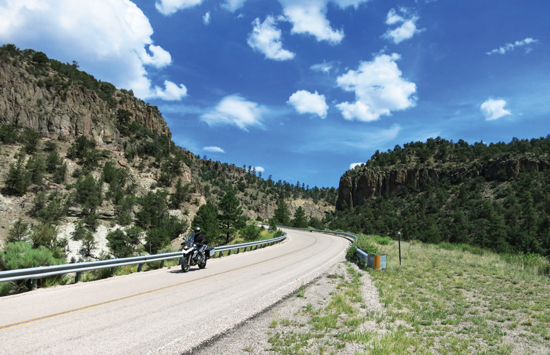 motorcycle ride New Mexico