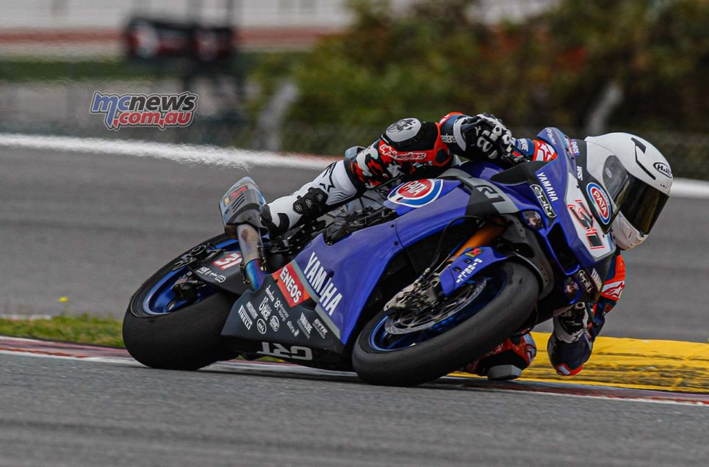 WorldSBK Test Portimao Day Garrett Gerloff