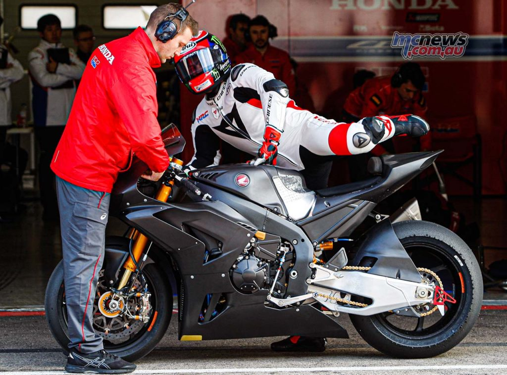 WorldSBK Test Portimao Day Leon Haslam
