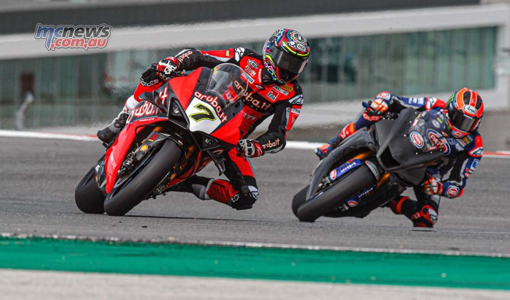 WorldSBK Test Portimao Day Chaz Davies
