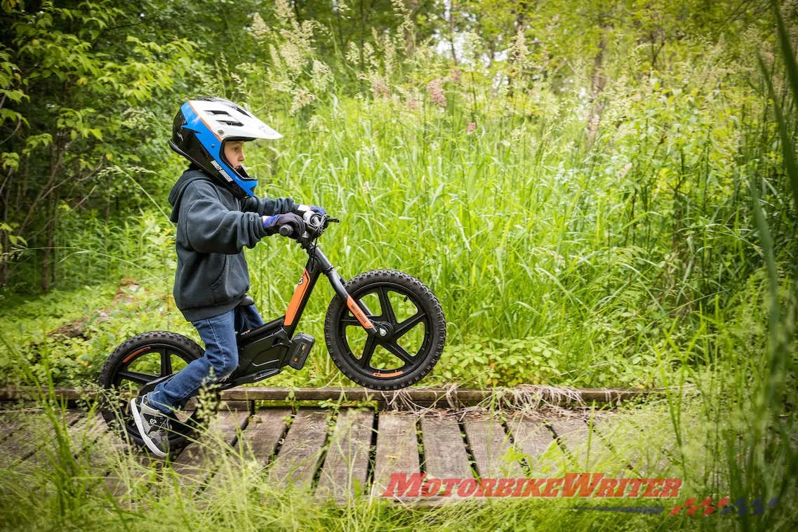 Harley-Davidson electric bicycle balance kids