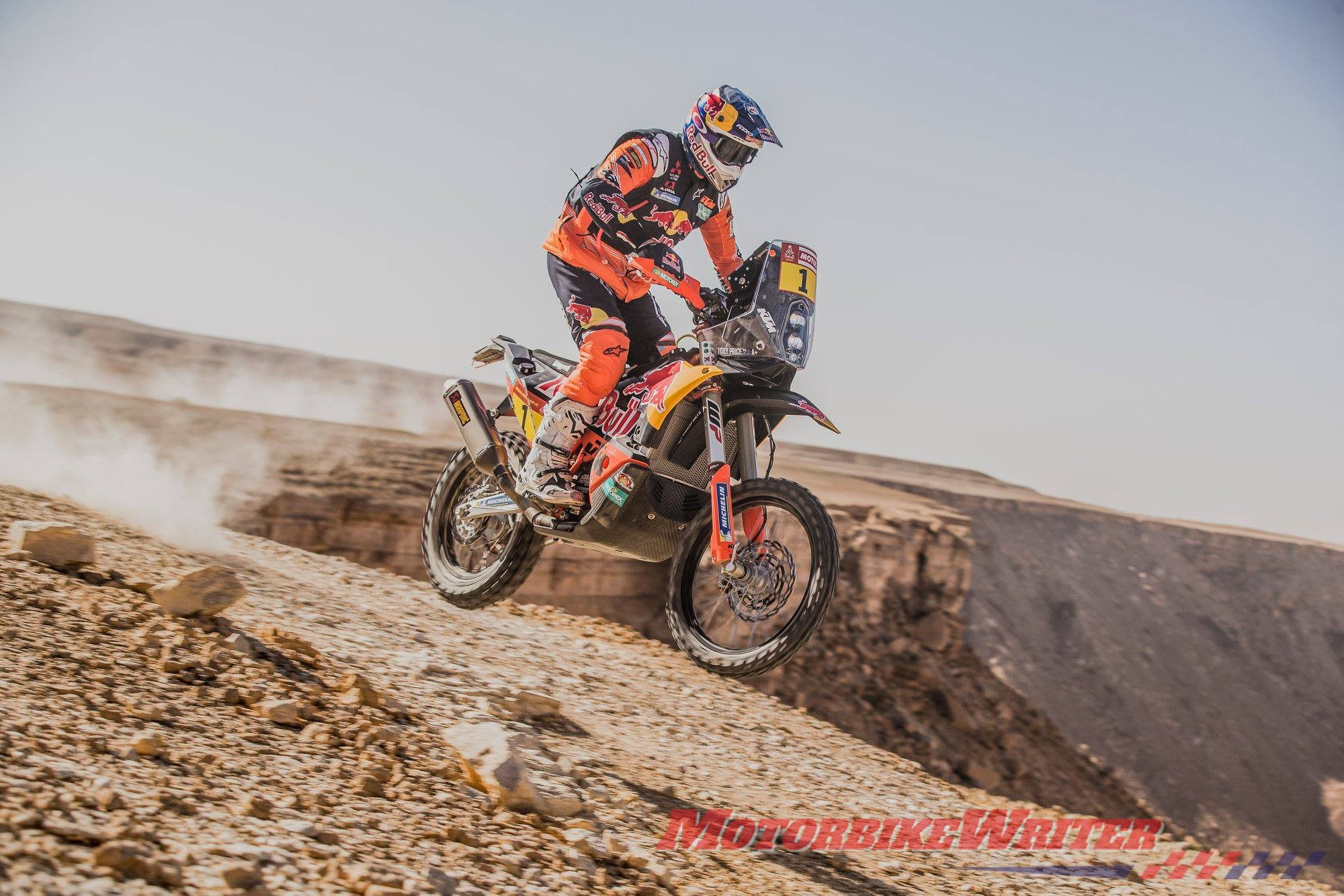 Toby Price Dakar lead