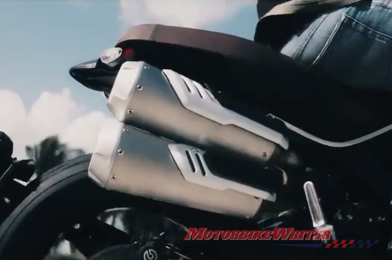 Video hints at Ducati Scrambler 1100 Pro