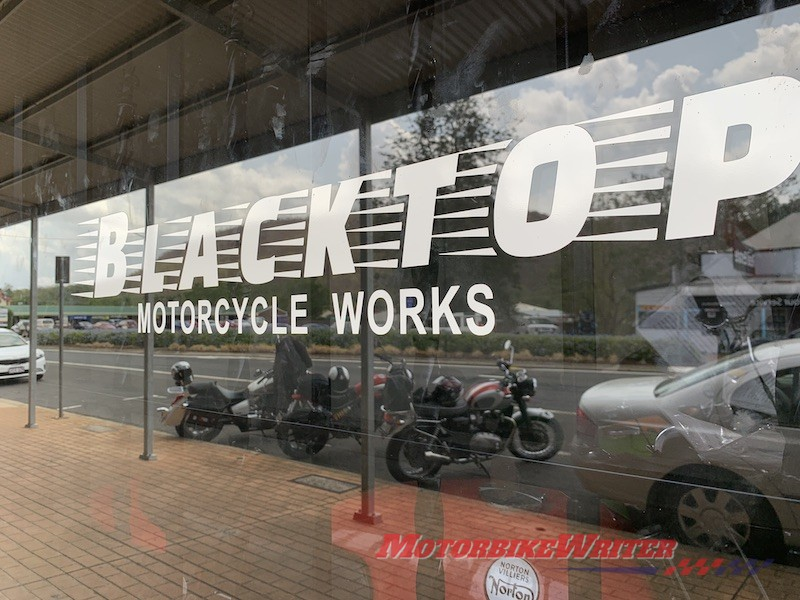 Blacktop Motorcycle Works museum