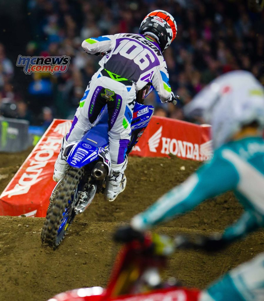 AMA SX Rnd A Jay Wilson Privateers SX A Kardy