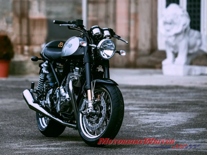 imited-edition Commando 961 Cafe Racer MKII
