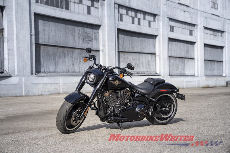 Harley-Davidson Fat Boy 30th anniversary birtdhay