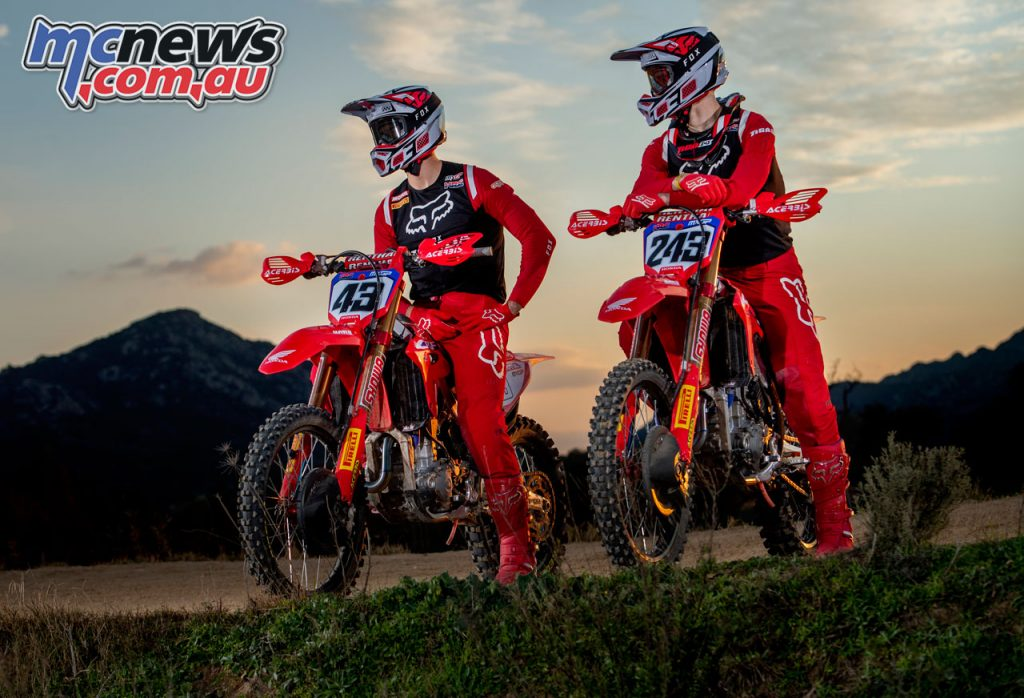 Team HRC Tim Gajser Mitch Evans MXGP shotbybavo