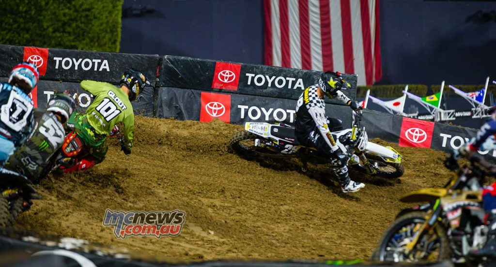 AMA SX Rnd SanDiego Start Multiple SX SAN Kardy